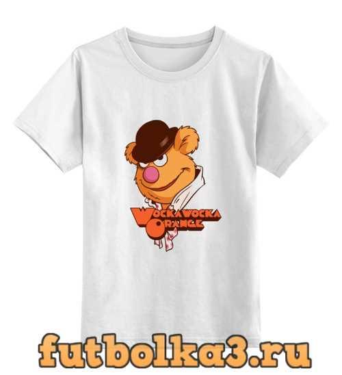 Футболка детская Wocka wocka orange