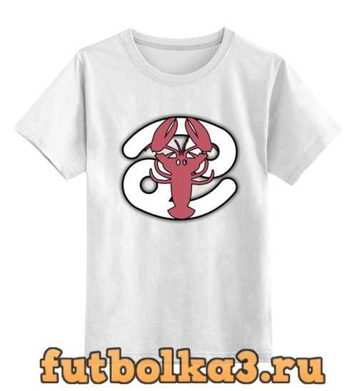 Футболка детская Знак зодиака Рак
