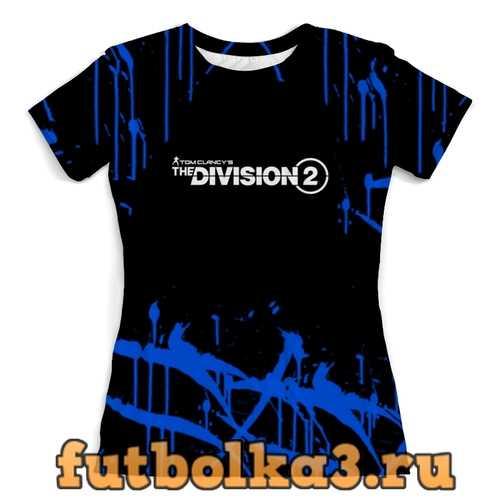 Футболка Division 2 женская
