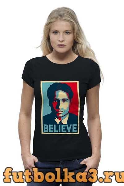 Футболка Дэвид Духовны (Believe) женская