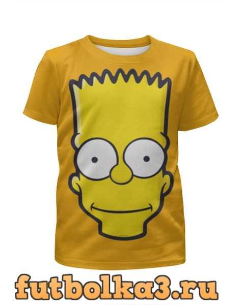 Футболка для девочек Bart Simpson