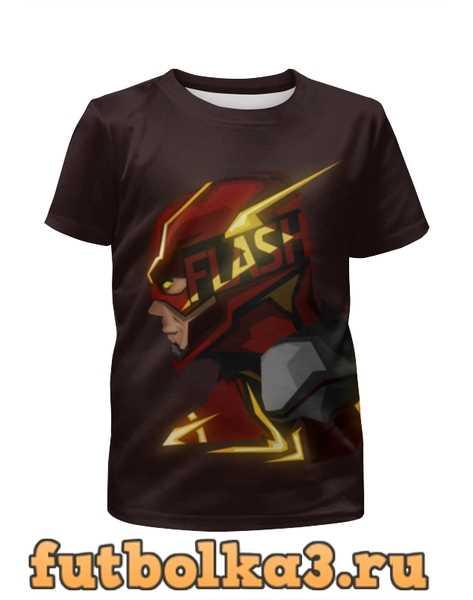 Футболка для девочек Flash