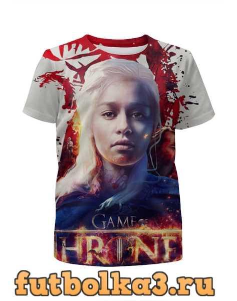 Футболка для девочек Игра престолов / Game of Thrones