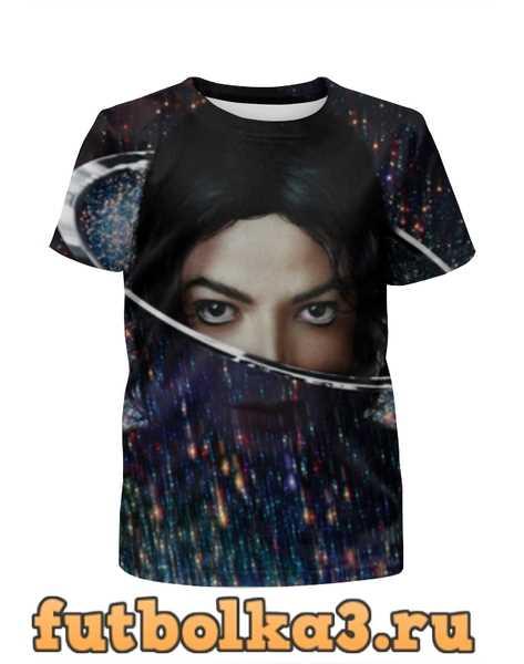 Футболка для девочек Майкл Джексон (Michael Jackson)