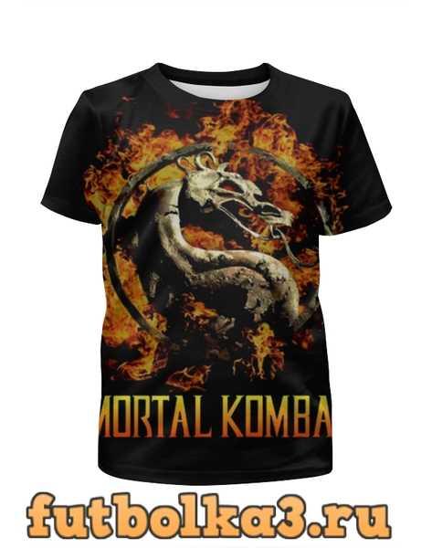 Футболка для девочек Mortal Kombat