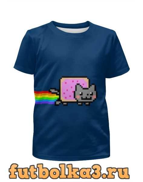 Футболка для девочек Nyan Cat