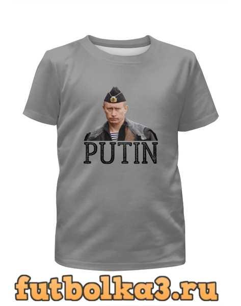 Футболка для девочек Putin