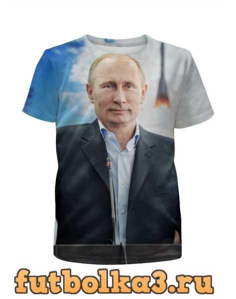Футболка для девочек Путин (Putin)