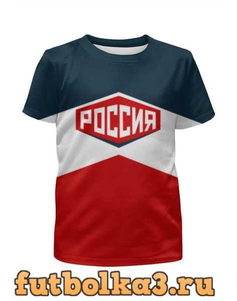 Футболка для девочек Россия