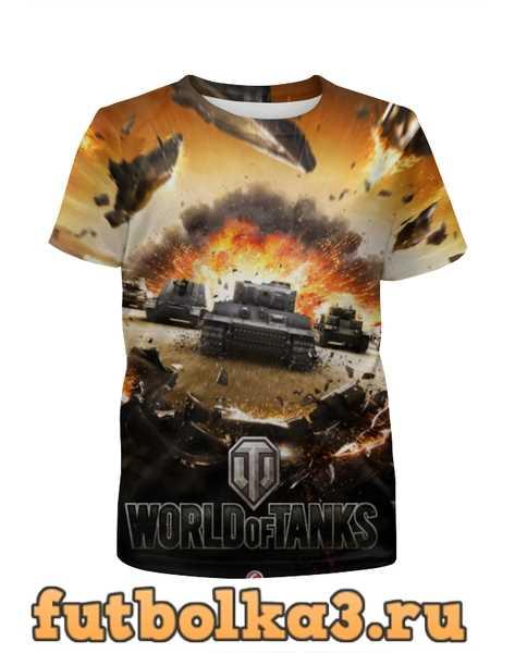 Футболка для девочек World of Tanks