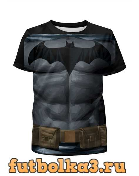 Футболка для мальчиков Бэтмен(BATMAN)