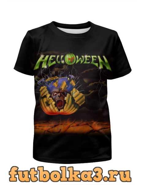 Футболка для мальчиков Helloween ( rock band )