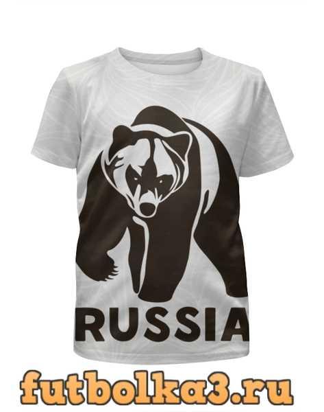 Футболка для мальчиков Россия (Russia)