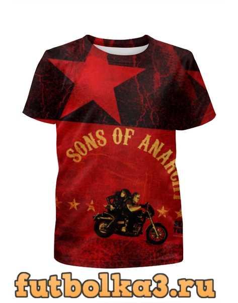Футболка для мальчиков Sons of Anarchy