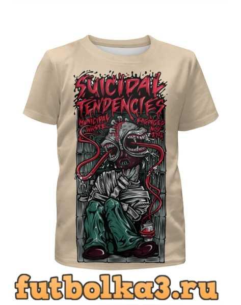 Футболка для мальчиков Suicidal Tendencies band
