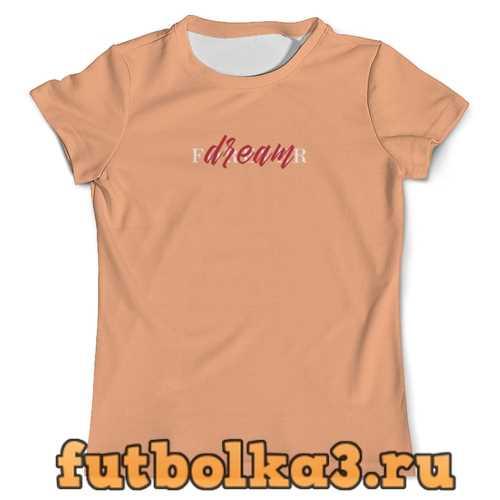 Футболка Dream forever мужская