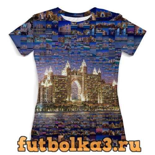 Футболка Дубай город женская
