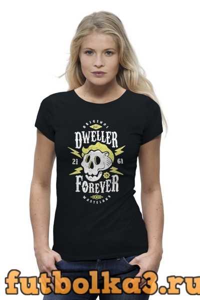 Футболка Dweller Forever женская