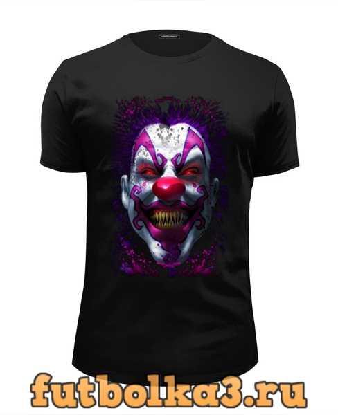 Футболка Evil Clown мужская