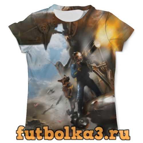 Футболка fallout 4 мужская