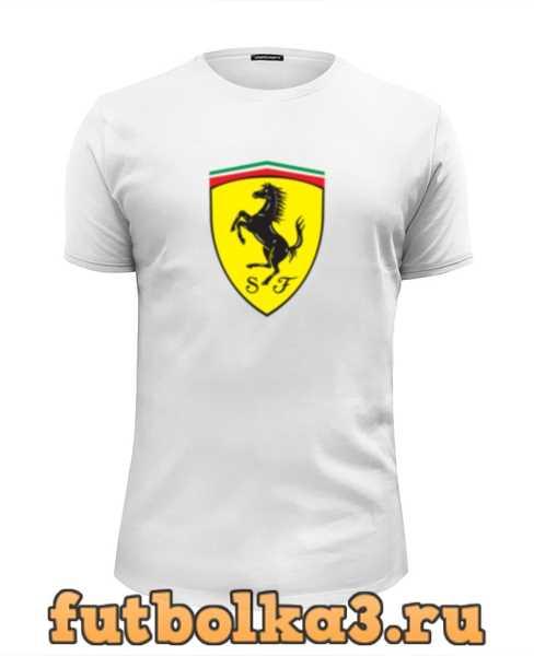 Футболка Ferrari мужская
