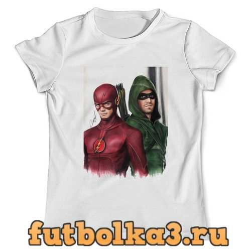 Футболка Флэш и Стрела мужская
