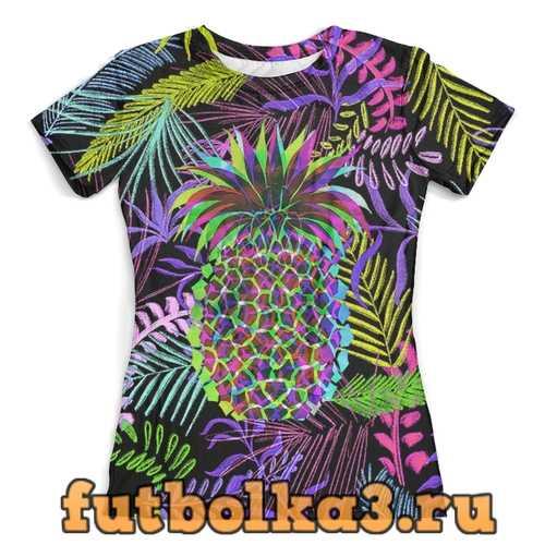 Футболка Flora Design (Ananas) женская