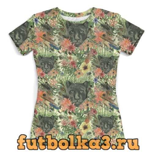 Футболка Flora & Panther Design (day) женская