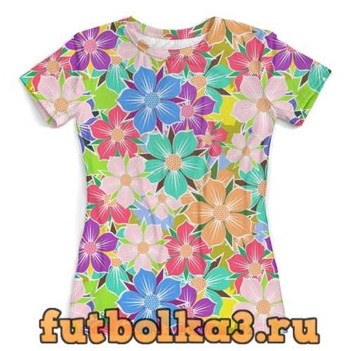 Футболка Floral Design женская