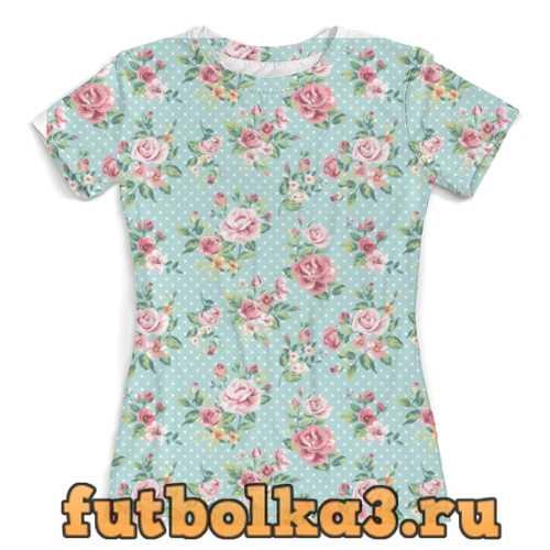 Футболка Flowers женская