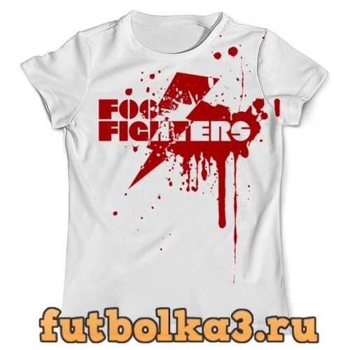 Футболка Foo Fighters мужская
