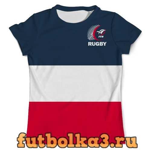 Футболка Франция регби мужская