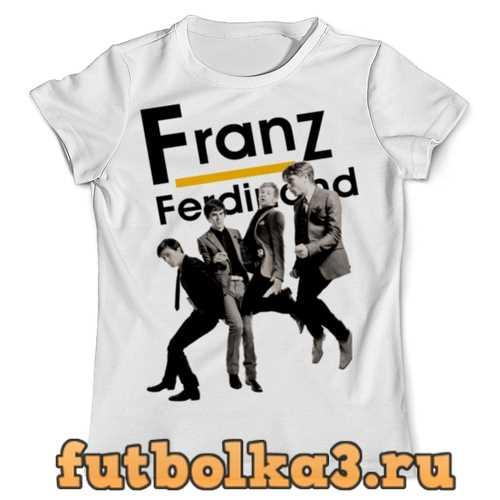 Футболка Franz Ferdinand мужская