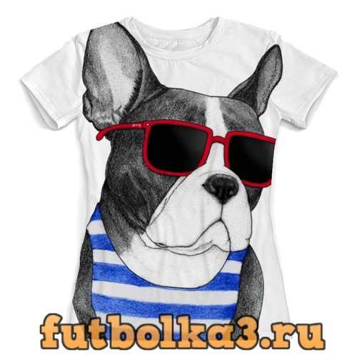 Футболка Френч-стайл женская