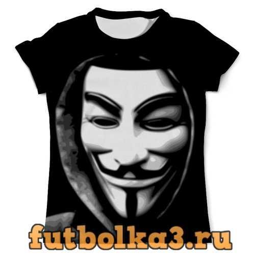 Футболка Гай Фокс мужская