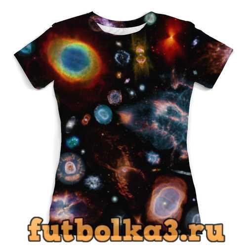 Футболка Галактический мир женская