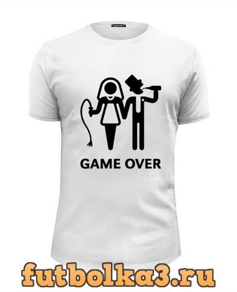 Футболка Game Over (Игра Окончена) мужская