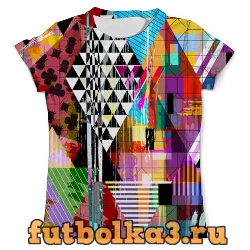 Футболка Geometry color мужская