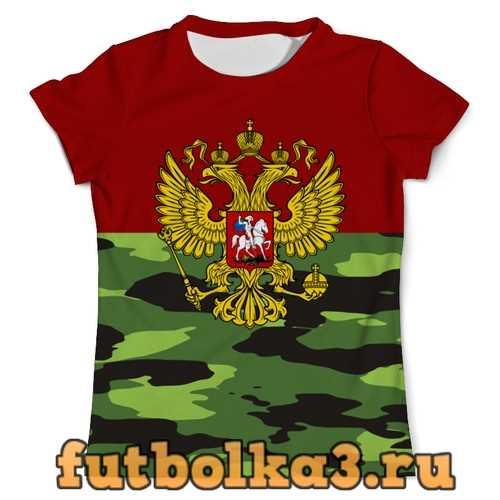 Футболка Герб России мужская