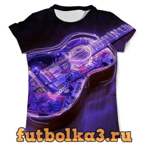 Футболка Гитара мужская