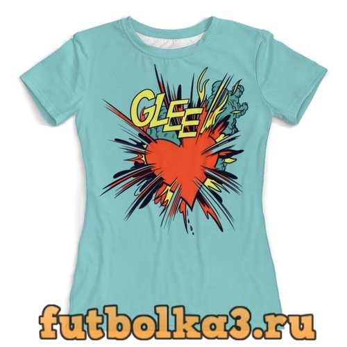 Футболка Glee женская