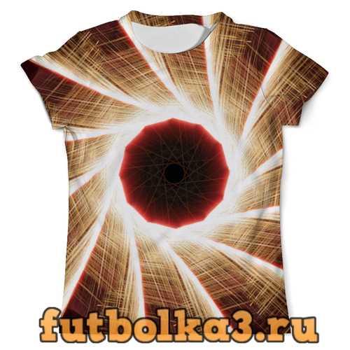 Футболка glitch art (болгарка) мужская