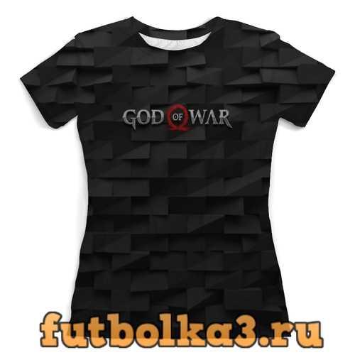 Футболка God of War женская