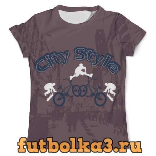 Футболка Городской стиль мужская
