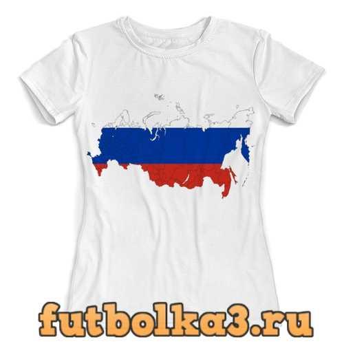 Футболка Границы России женская