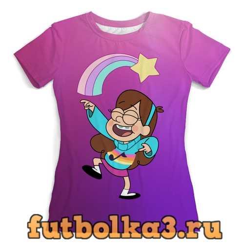 Футболка Gravity Falls женская