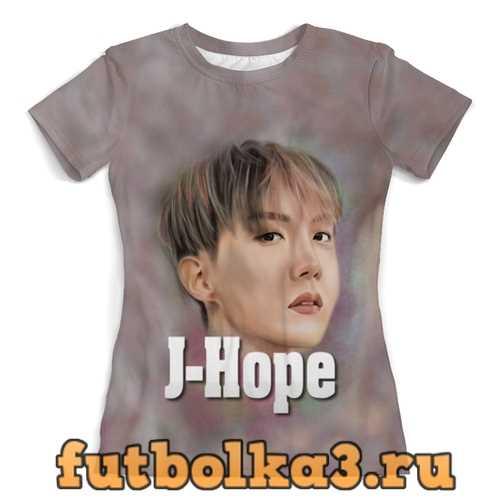 Футболка Группа BTS женская