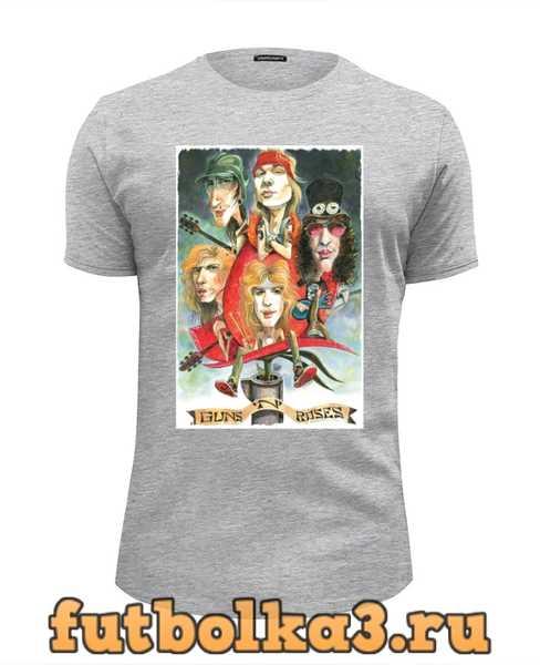 Футболка Guns N Roses мужская