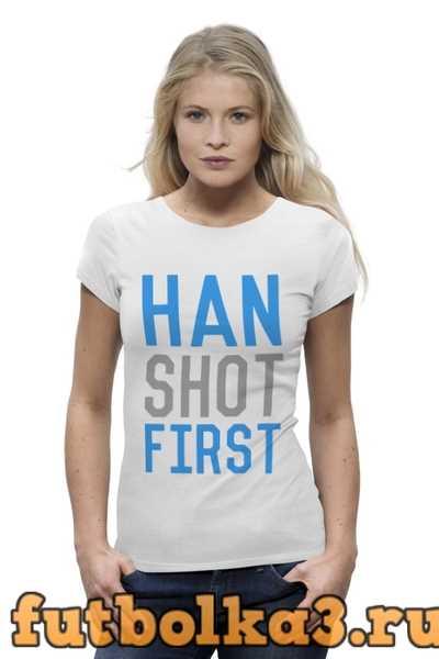 Футболка Han Solo (Star Wars) женская