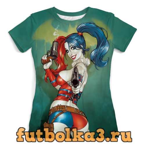 Футболка Harley Quinn (1) женская